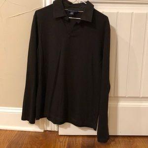 Banana Republic Long Sleeved Polo Shirt